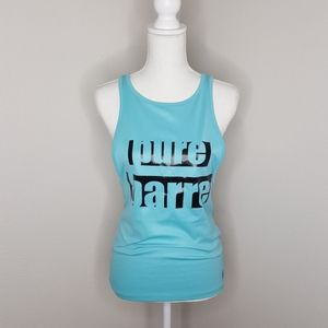 Pure Barre Blue Work out Tank Top